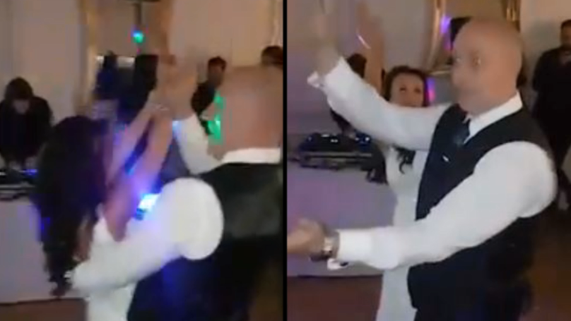 Newlywed Couple Stun Guests By Performing First Dance To 'Baby Shark'