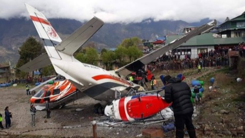 Three People Have Died After Plane Crashes Into Helicopter Near Mount Everest