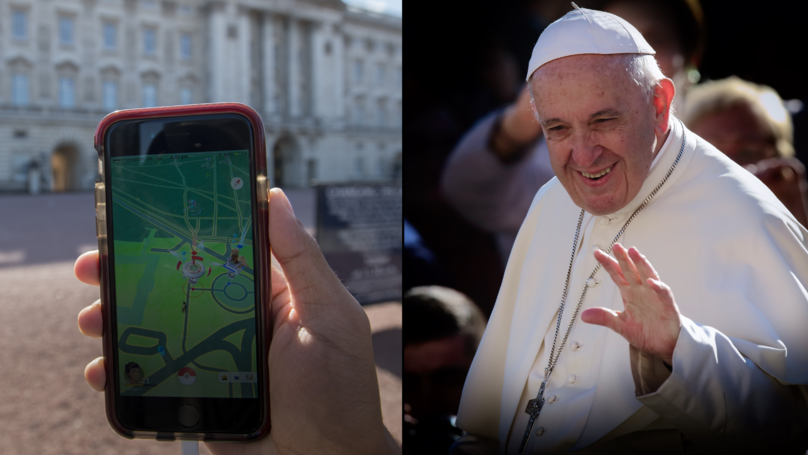 The Catholic Church Releases 'Pokémon Go' Style Game