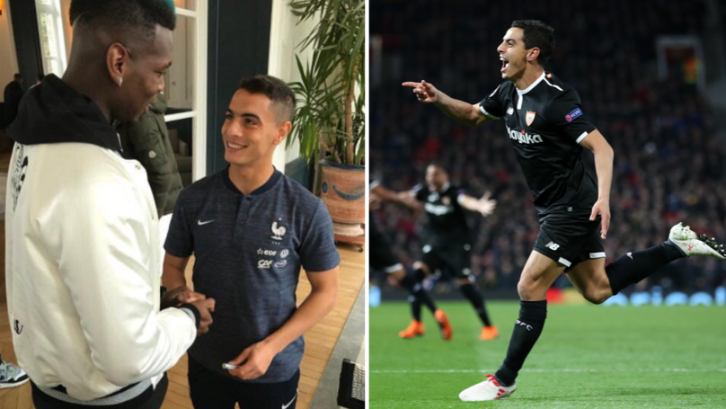 Wissam Ben Yedder Brilliantly Trolls Paul Pogba On International Duty