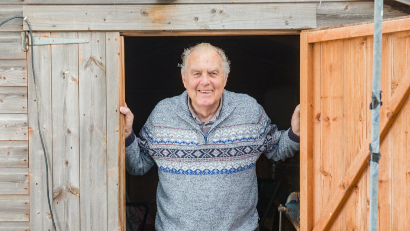 Pensioner Discovers A Mouse Has Been Tidying His Shed At Night