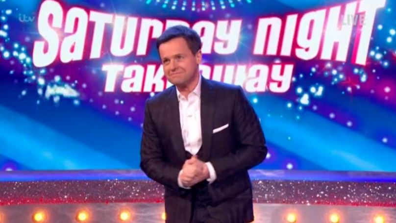 Dec Confesses He Had Sleepless Night Before Hosting 'Saturday Night Takeaway' Without Ant
