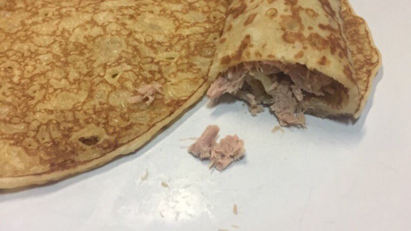 Man Shocks The Internet By Sharing His Love For Tuna Pancakes
