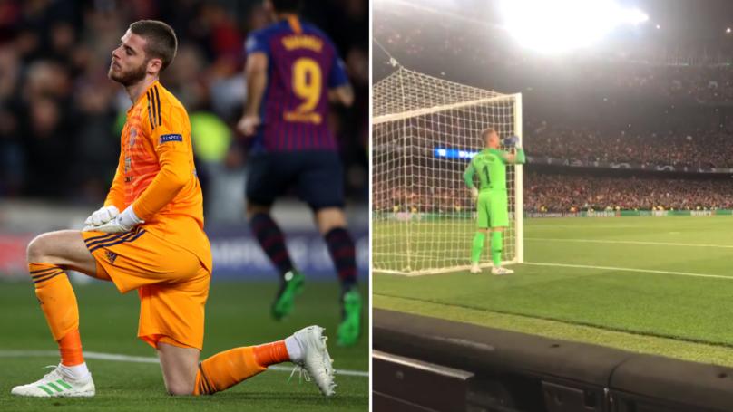 Ter Stegen Didn't Celebrate Barcelona's Goal When David De Gea Made A Mistake