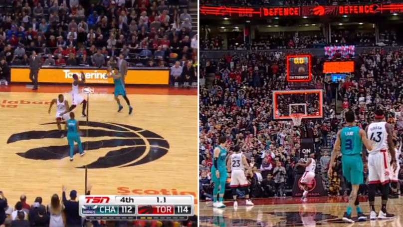 Jeremy Lamb Hits Unbelievable Half-Court Game-Winner At The Buzzer For Charlotte Hornets
