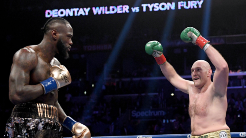 Tyson Fury Confirms Deontay Wilder Rematch Is Slated For 22nd February In Las Vegas