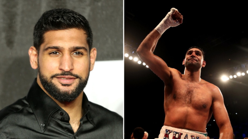 Amir Khan Set To Fight MMA Fighter In Exhibition Bout