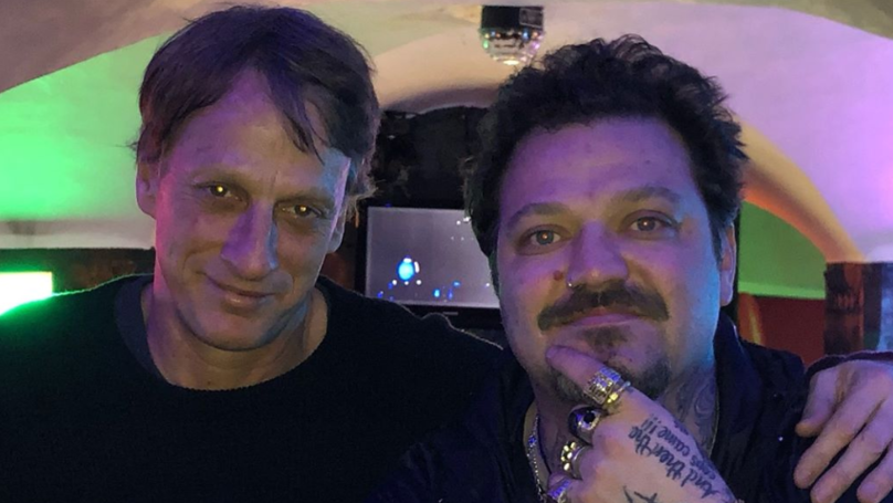 Bam Margera Reunites With Old Friend And Skateboarding Legend Tony Hawk