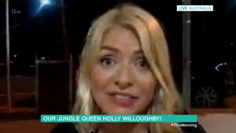 Holly Willoughby Appears 'Drunk' On This Morning After Leaving I'm A Celeb Wrap Party
