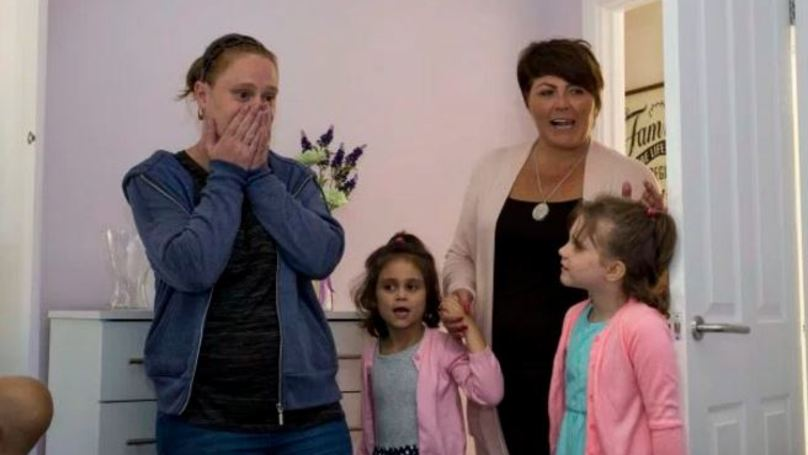 Neighbours Renovate House Of Family Away Getting Cancer Treatment For Young Daughter