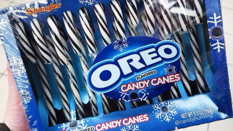 Oreo Is Making Flavoured Candy Canes And Xmas Just Got Even Better