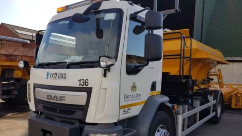 Council Gritter Named 'Gritsy Bitsy Teeny Weeny Yellow Anti-Slip Machiney' After Public Poll