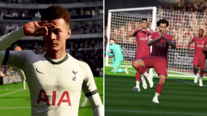 FIFA 20 To Include Brand New Celebrations, Including Dele Alli 'Eye' Challenge