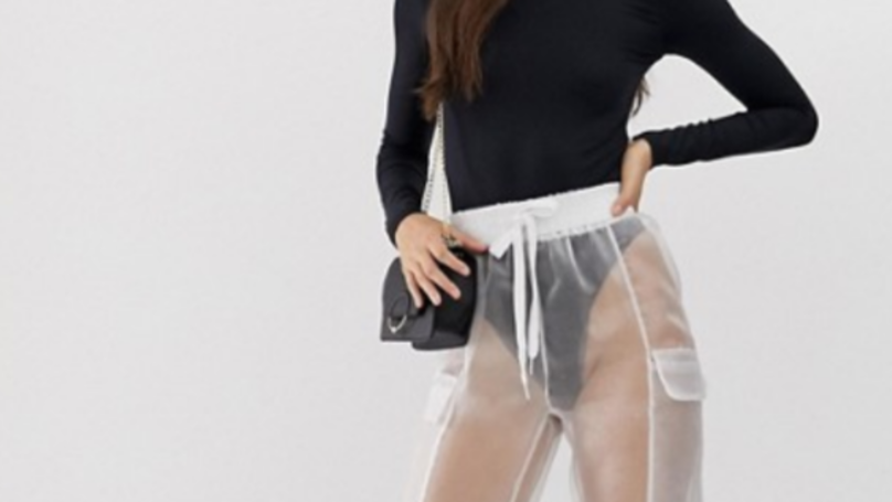 ASOS Is Selling See-Through Trousers And You're Going To Need To Wax