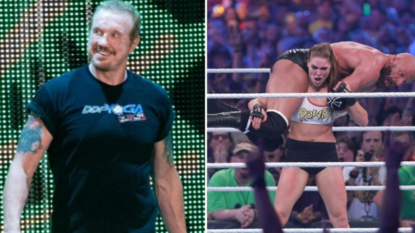 Diamond Dallas Page Wasn't Surprised At How Good Ronda Rousey Looked In Debut Match