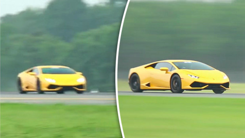A Lamborghini Has Smashed The Speed Record But Don T Try This