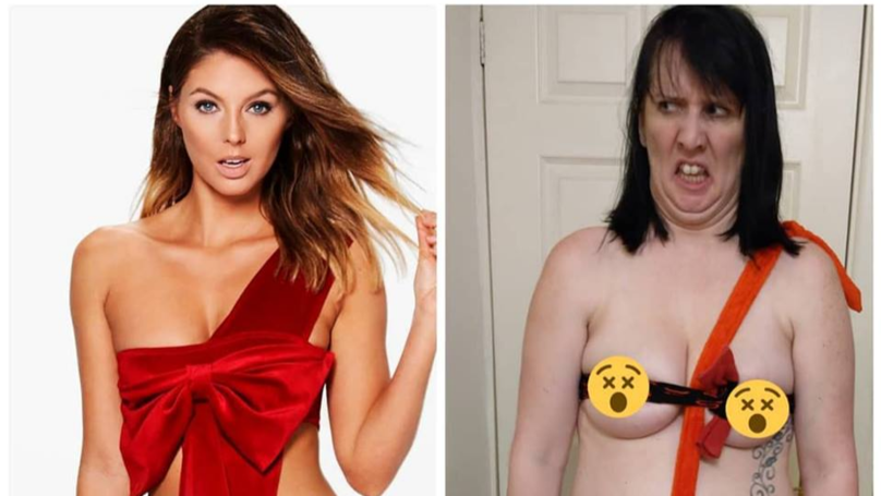 Mum Of Two Posts Spoof Sexy Photos To Cope With Post-Natal Depression