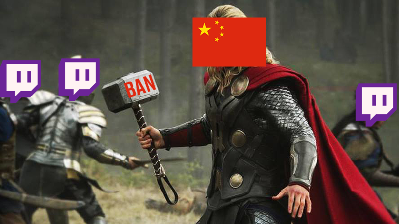 China Bans Streaming Service Twitch, Website & App Blocked