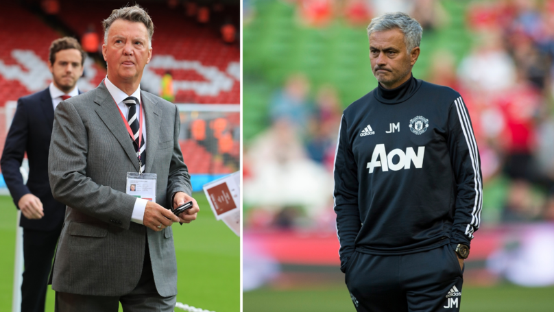 Van Gaal's Comments Post-United Sack Are Frighteningly Similar To Mourinho's Situation