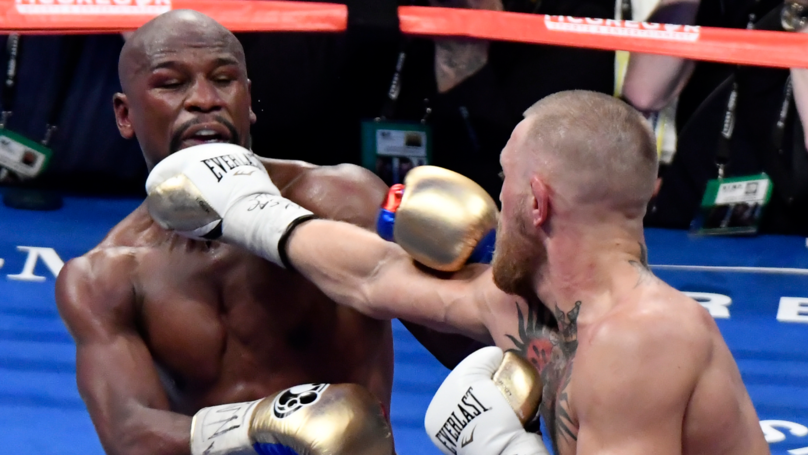 Conor McGregor Landed More Punches On Mayweather Than Pacquiao