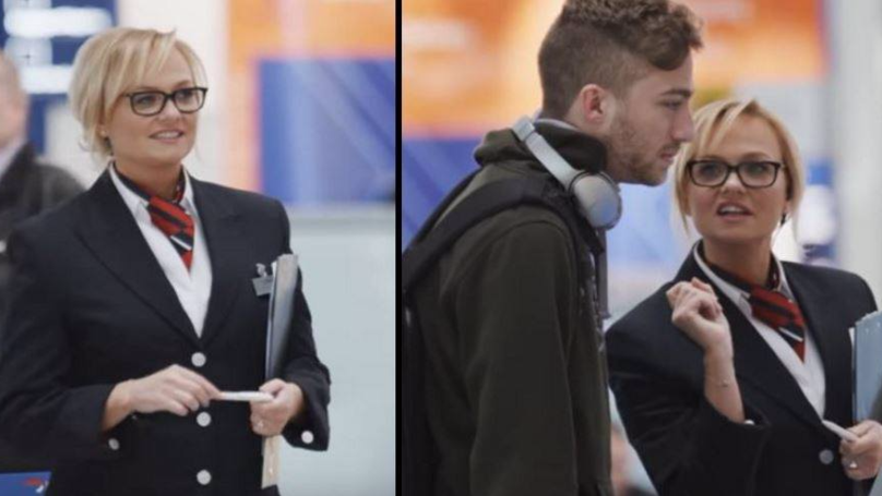 Baby Spice Pranked Travellers At Airport And No One Recognised Her