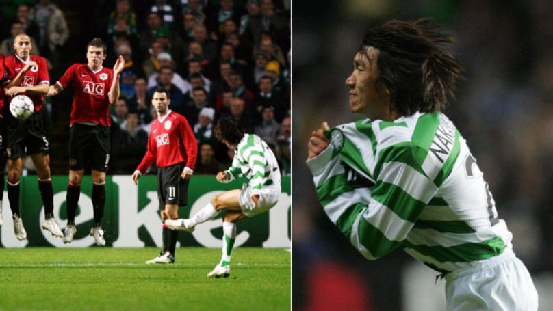 On This Day In 2006: Shunsuke Nakamura Scored 'That' Free-Kick Against Manchester United