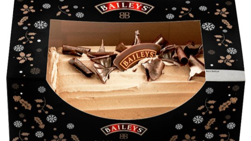 ​Tesco Is Selling A Deliciously Festive Baileys Yule Log And It's Only £5