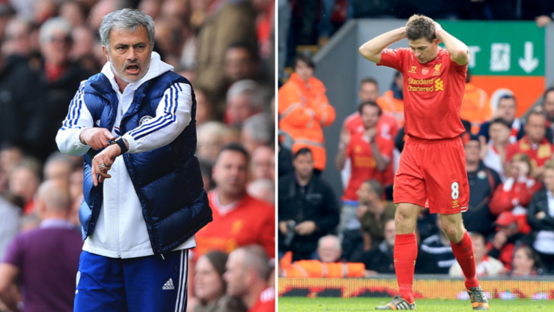 Jose Mourinho's Incredible Time-Wasting Tactics Against Liverpool In 2014