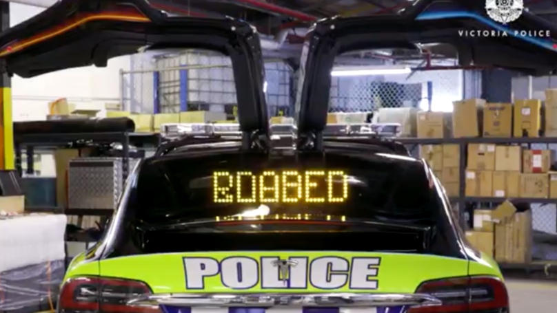 Victoria Police Unveil New Tesla X Highway Patrol Car And Opinion Is Split