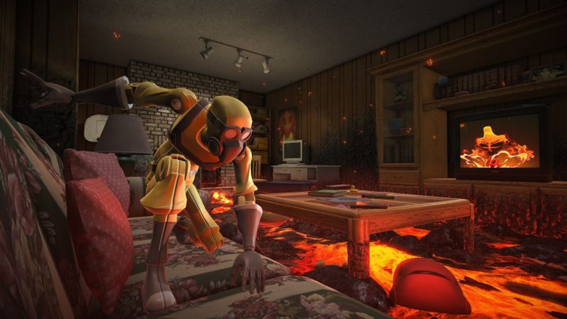 The Childhood Game Where We Pretended The Floor Is Lava Is Now A Video Game