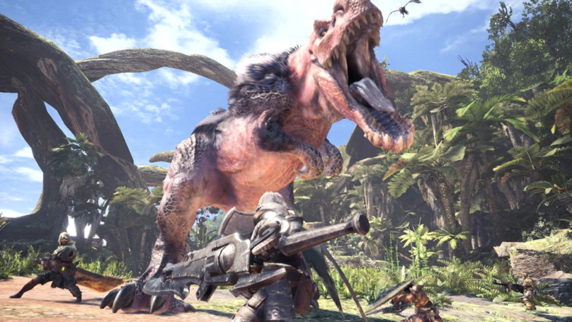 The Monster Hunter World Graphics Update Will Give It New High Resolution Textures