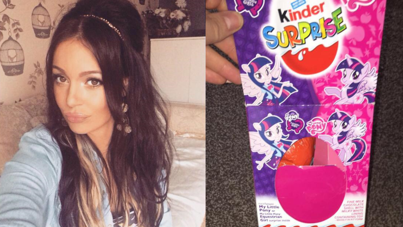 Mum 'Sick To Her Stomach' After Finding Needle Inside Daughter's Kinder Egg