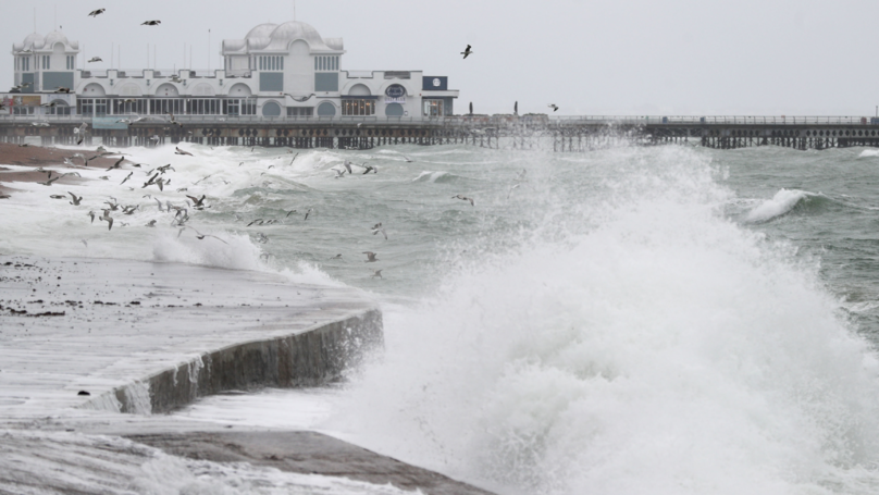 Met Office Issues Weather Warning As Storm Diana Batters Britain