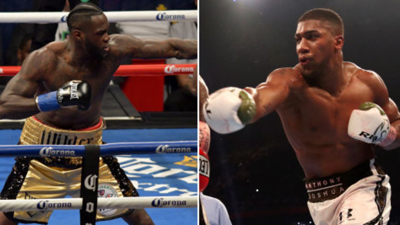 Boxer Reveals Who Hits Harder Between Anthony Joshua And Deontay Wilder