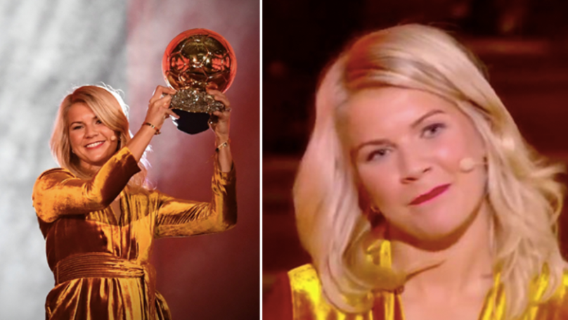 First Female Ballon d'Or Winner Ada Hegerberg Asked To Twerk By Host Martin Solveig