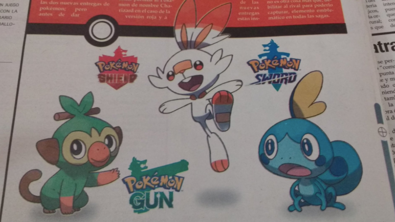 Local Mexican Newspaper Mistakes 'Gun' Meme For A Real Pokémon Game