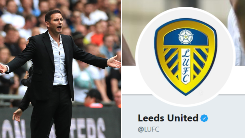 Leeds United Savagely Troll Frank Lampard's Derby County After Play-Off Final Defeat