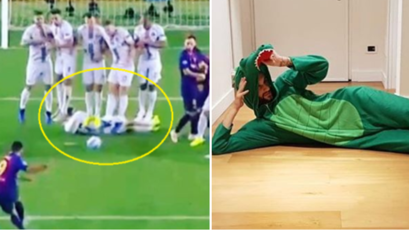 Of Course Marcelo Brozovic Dressed Up As A Crocodile For Halloween