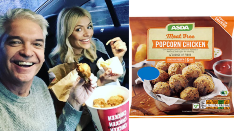 You Can Now Get Meat-Free Popcorn Chicken From ASDA
