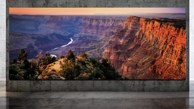 Samsung 'The Wall Luxury' 292-Inch TV On Sale Next Month