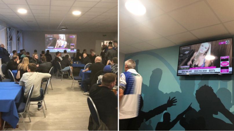 Bristol Rovers Accidentally Show Babestation On TV Screens At Half-Time