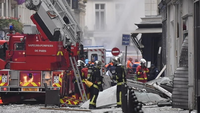 Many Reported Injured As Firefighters Tackle Blaze Following Explosion In Paris