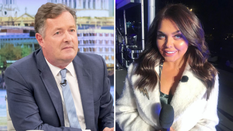 Piers Morgan Hits Out At Scarlett Moffatt After She Confuses Him For David Cameron