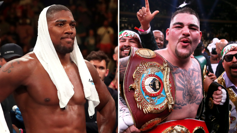 Anthony Joshua Claims Andy Ruiz Jr Beat Him 'With A Lucky Punch'