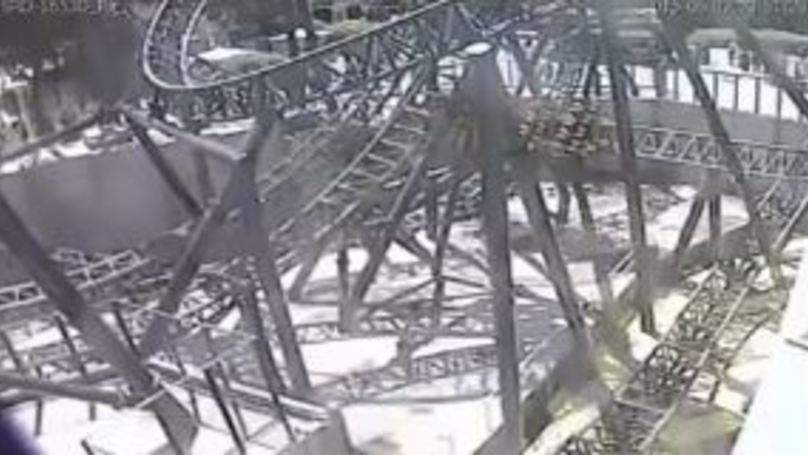 New CCTV Footage Shows Moment 'Smiler' Rollercoaster Crashed Last Year