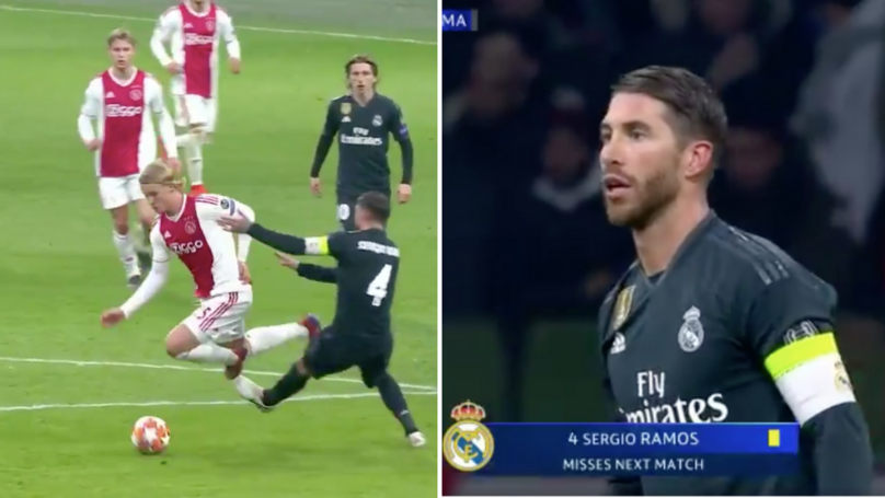 Sergio Ramos Branded 'A Master Of Dark Arts' For What He Did In The 89th Minute