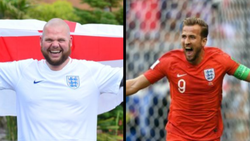 Guy Gets Tattoo Of Harry Kane's Face And 'World Cup Winner'