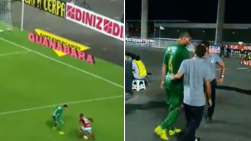 Watch: Vinicius Junior Ruined A Defender So Bad He Went Off Injured