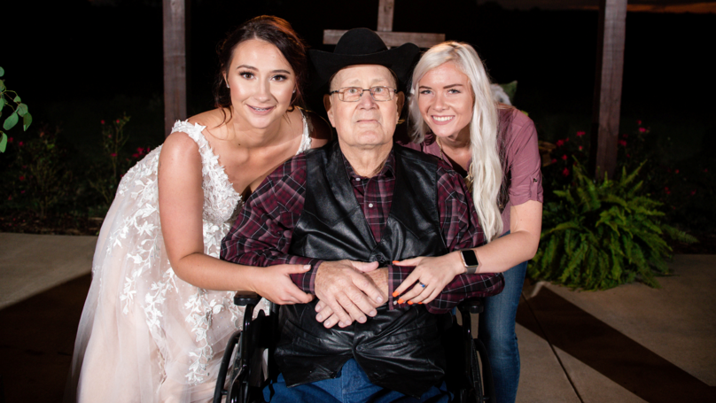 Bride Gets Wed In Front Of Terminally Ill Grandad After Being Given Free Luxury Venue