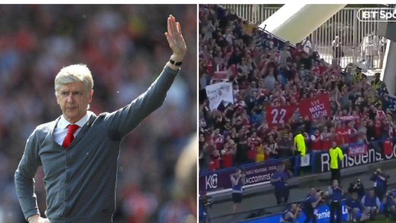 Arsene Wenger Showed His True Class In Final Moments In Front Of Arsenal Fans